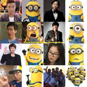 Running Man Despicable Me