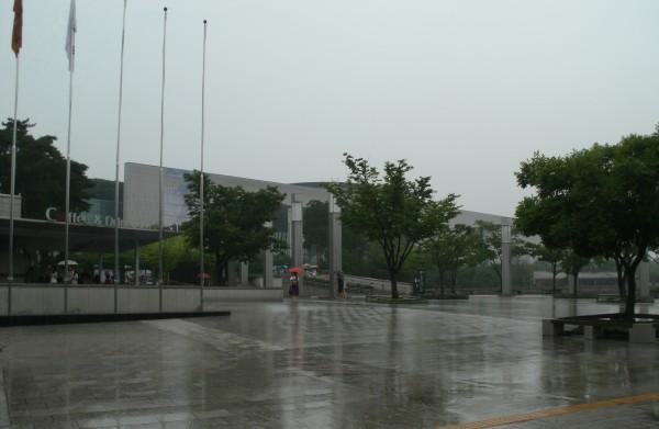 Rain - Seoul National Museum